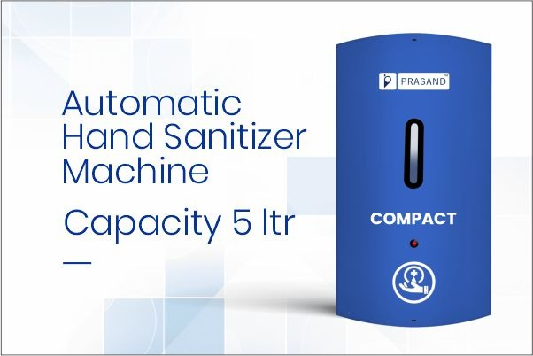 Prasand Compact Automatic Hand Sanitizer Machine in Ahmedabad