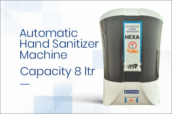Prasand Hexa Automatic Hand Sanitizer Machine in Ahmedabad